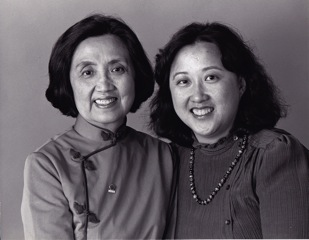 Helen Chen with her mother, Joyce.