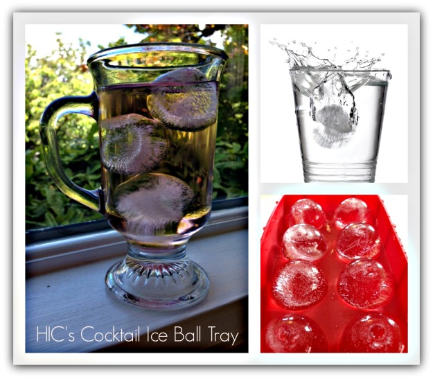 HIC's Cocktail Ice Ball Tray