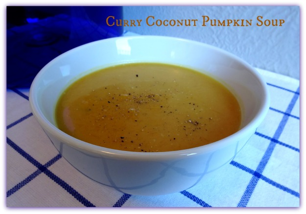 Curry Coconut Pumpkin Soup