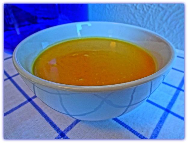 Curry Coconut Pumpkin Soup