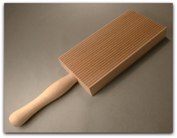 Cousin Liana's Gnocchi Board from the Fante's Collection of Italian Cookware Made by Harold Import Co.