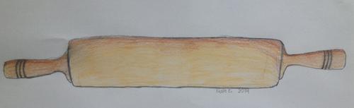 Rolling Pin Illustration