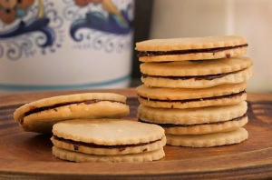 Ischler cookies from The Food Hunter's Guide to Cuisine