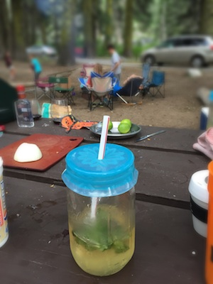 Spill-free sipping at the campsite.